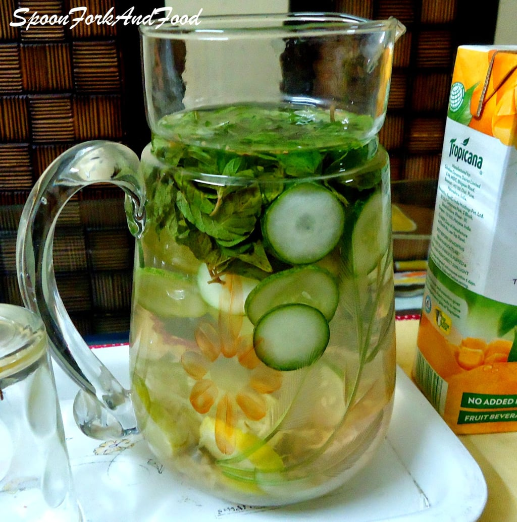 Home Made Detox Water Flat Belly