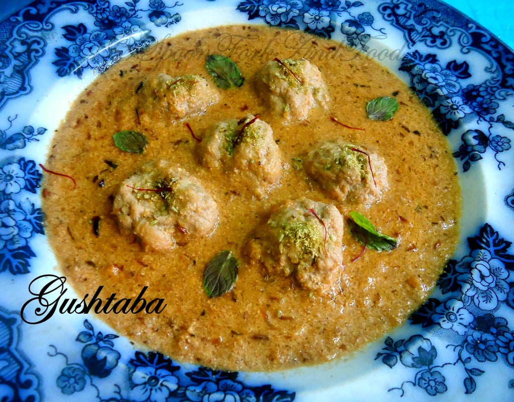 Gushtaba A Kashmiri Delicacy