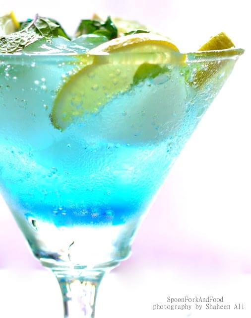 Blue Lagoon Non Alcoholic