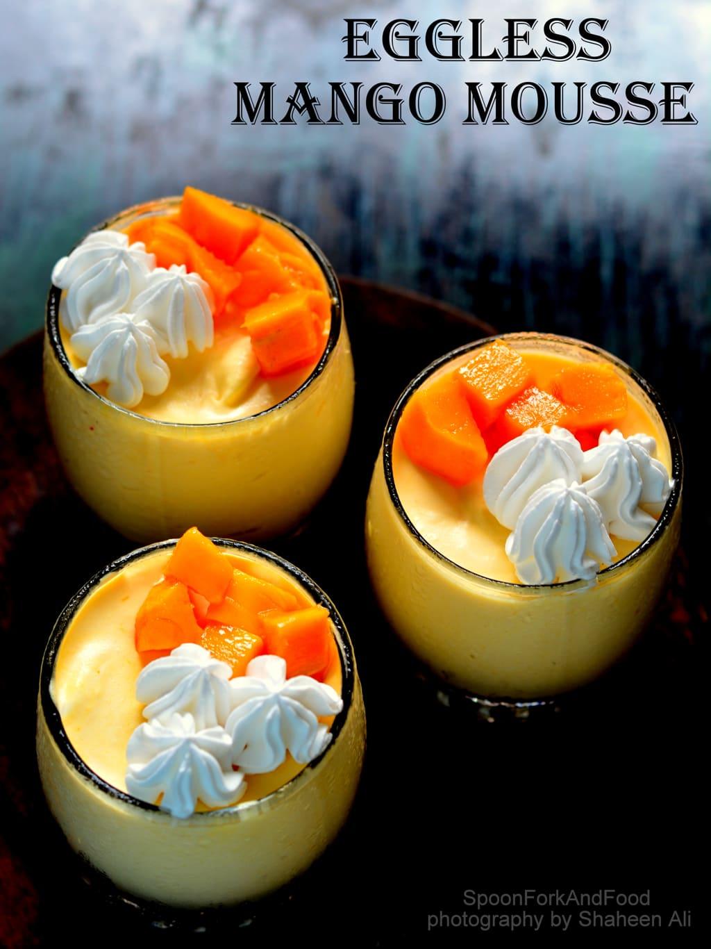 How To Make Mango Mousse Cake Without Gelatin