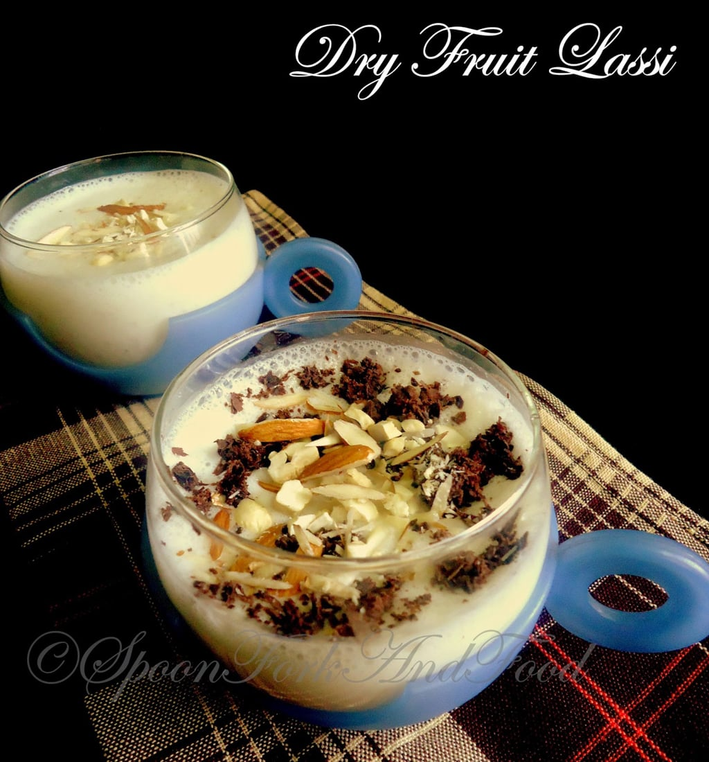 Image result for Dry fruits lassi