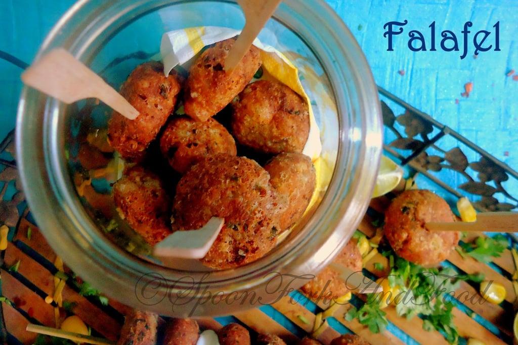 FALAFEL ~ A Lebanese Street Food Snack! Recipe   Spoon ...