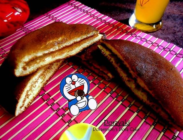Stuffed Fluffy Golden Pan Cakes
